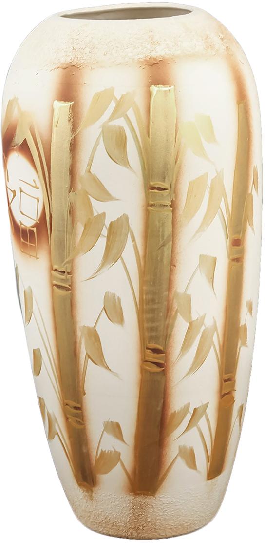 Ваза напольная Керамика ручной работы Аурика, цвет: оранжевый1098913Это ваза - отличный способ подчеркнуть общий стиль интерьера. Существует множество причин иметь такой предмет дома. Вот лишь некоторые из них: Формирование праздничного настроения. Можно украсить вазу к Новому году гирляндой, тюльпанами на 8 марта, розами на день Святого Валентина, вербой на Пасху. За счёт того, что это заметный элемент интерьера, вы легко и быстро создадите во всём доме праздничное настроение. Заполнение углов, подиумов, ниш. Таким образом можно сделать обстановку более уютной и многогранной. Создание групповой композиции. Если позволяет площадь пространства, разместите несколько ваз так, чтобы они сочетались по стилю или цветовому решению. Это придаст обстановке более завершённый вид. Подходящая форма и стиль этого предмета подчеркнут достоинства дизайна квартиры. Ваза может стать отличным подарком по любому поводу, ведь такой элемент интерьера практичен и способен каждый день создавать хорошее настроение!