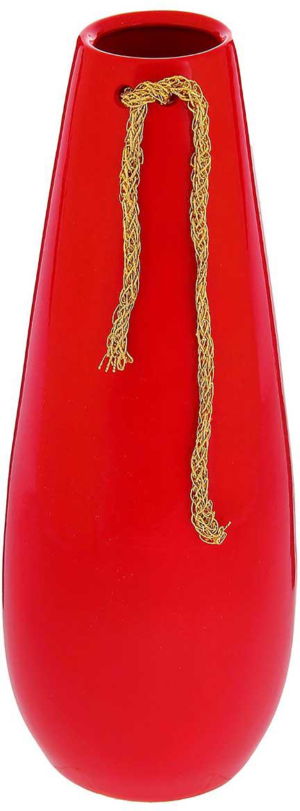 Ваза Керамика ручной работы Версаль, цвет: красный, средняя1105269Ваза - сувенир в полном смысле этого слова. И главная его задача - хранить воспоминание о месте, где вы побывали, или о том человеке, который подарил данный предмет. Преподнесите эту вещь своему другу, и она станет достойным украшением его дома. Каждому хозяину периодически приходит мысль обновить свою квартиру, сделать ремонт, перестановку или кардинально поменять внешний вид каждой комнаты. Ваза - привлекательная деталь, которая поможет воплотить вашу интерьерную идею, создать неповторимую атмосферу в вашем доме. Окружите себя приятными мелочами, пусть они радуют глаз и дарят гармонию.