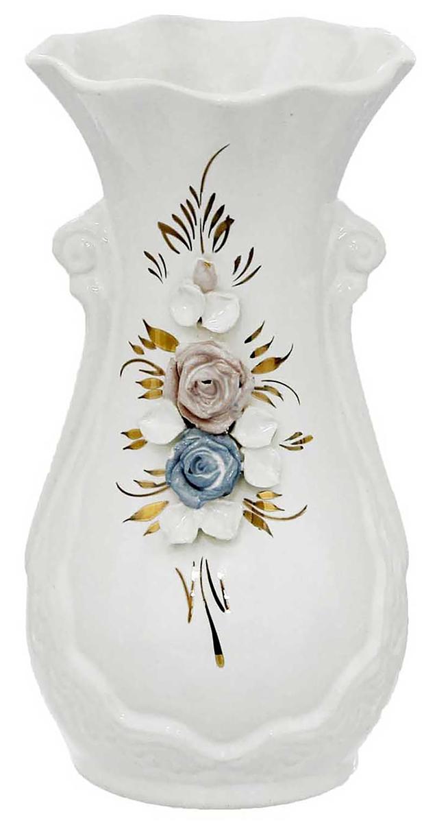 Ваза Керамика ручной работы Лакшми, цвет: белый рубашка c n c costume national рубашки с отложным воротником