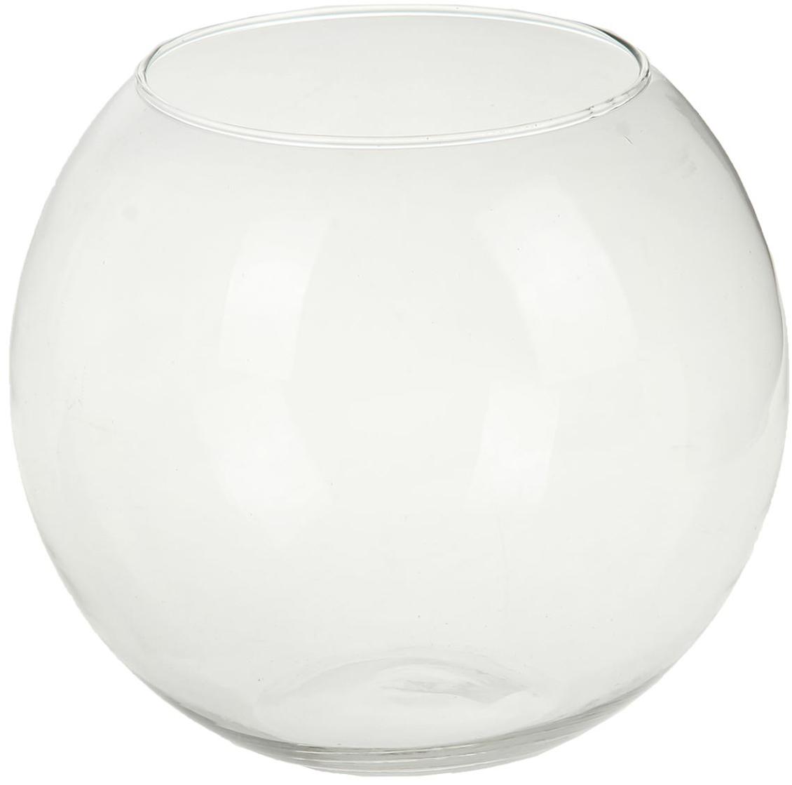 Ваза-шар Evis Сфера, 4,5 л1149914Воплотите в жизнь самые смелые дизайнерские идеи по украшению дома! Ваза из прозрачного стекла - основа для вашего творчества. Насыпьте в неё цветной песок, камушки, ракушки или другой декор. Создавайте восхитительные интерьерные композиции из цветов и зелени. Ваза-шар Сфера 4,5 л станет незабываемым подарком, если поместить в неё конфеты или другие сладости. Дайте волю фантазии! Каждая ваза выдувается мастером - вы не найдёте двух совершенно одинаковых. А случайный пузырёк воздуха или застывшая стеклянная капелька на горлышке лишь подчёркивают её уникальность.