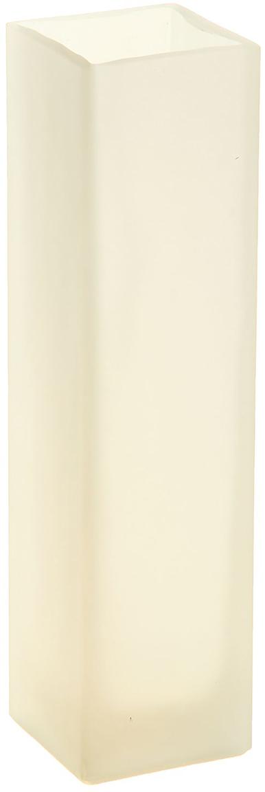 Ваза Evis Пять вечеров, цвет: белый, 0,33 л1169865Ваза - не просто сосуд для букета, а украшение убранства. Поставьте в неё цветы или декоративные веточки, и эффектный интерьерный акцент готов! Стеклянный аксессуар добавит помещению лёгкости. Ваза Пять вечеров белая, матовая, прямая, 0,33 л преобразит пространство и как самостоятельный элемент декора. Наполните интерьер уютом! Каждая ваза выдувается мастером. Второй точно такой же не встретить. А случайный пузырёк воздуха или застывшая стеклянная капелька на горлышке лишь подчёркивают её уникальность.