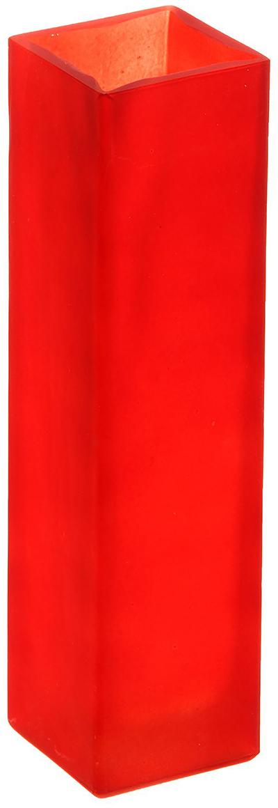 Ваза Evis Пять вечеров, цвет: красный, 0,33 л1169866Ваза - не просто сосуд для букета, а украшение убранства. Поставьте в неё цветы или декоративные веточки, и эффектный интерьерный акцент готов! Стеклянный аксессуар добавит помещению лёгкости.Ваза Пять вечеров алая, матовая, прямая, 0,33 л преобразит пространство и как самостоятельный элемент декора. Наполните интерьер уютом!Каждая ваза выдувается мастером. Второй точно такой же не встретить. А случайный пузырёк воздуха или застывшая стеклянная капелька на горлышке лишь подчёркивают её уникальность.