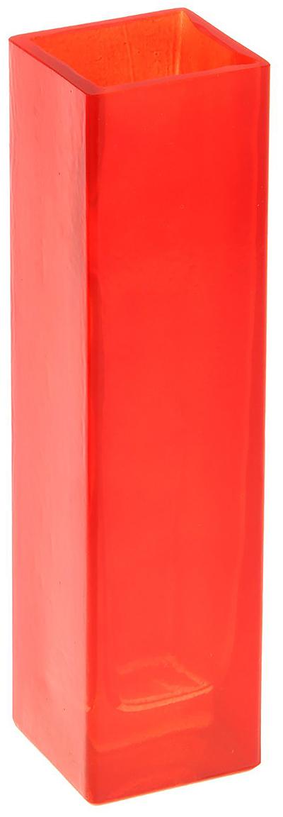 Ваза Evis Пять вечеров, цвет: красный, 0,33 л. 11698681169868Ваза - не просто сосуд для букета, а украшение убранства. Поставьте в неё цветы или декоративные веточки, и эффектный интерьерный акцент готов! Стеклянный аксессуар добавит помещению лёгкости. Ваза Пять вечеров алая, прямая, 0,33 л преобразит пространство и как самостоятельный элемент декора. Наполните интерьер уютом! Каждая ваза выдувается мастером. Второй точно такой же не встретить. А случайный пузырёк воздуха или застывшая стеклянная капелька на горлышке лишь подчёркивают её уникальность.