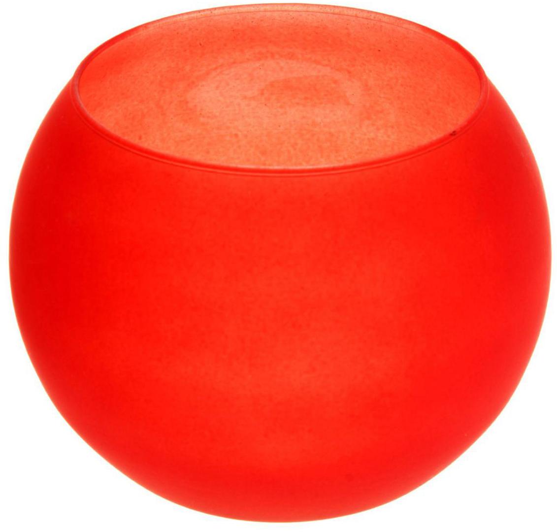 Ваза-шар Evis Пять вечеров, цвет: красный, 1 л. 11698711169871Ваза - не просто сосуд для букета, а украшение убранства. Поставьте в неё цветы или декоративные веточки, и эффектный интерьерный акцент готов! Стеклянный аксессуар добавит помещению лёгкости. Ваза-шар Пять вечеров алая, матовая, 1 л преобразит пространство и как самостоятельный элемент декора. Наполните интерьер уютом! Каждая ваза выдувается мастером. Второй точно такой же не встретить. А случайный пузырёк воздуха или застывшая стеклянная капелька на горлышке лишь подчёркивают её уникальность.