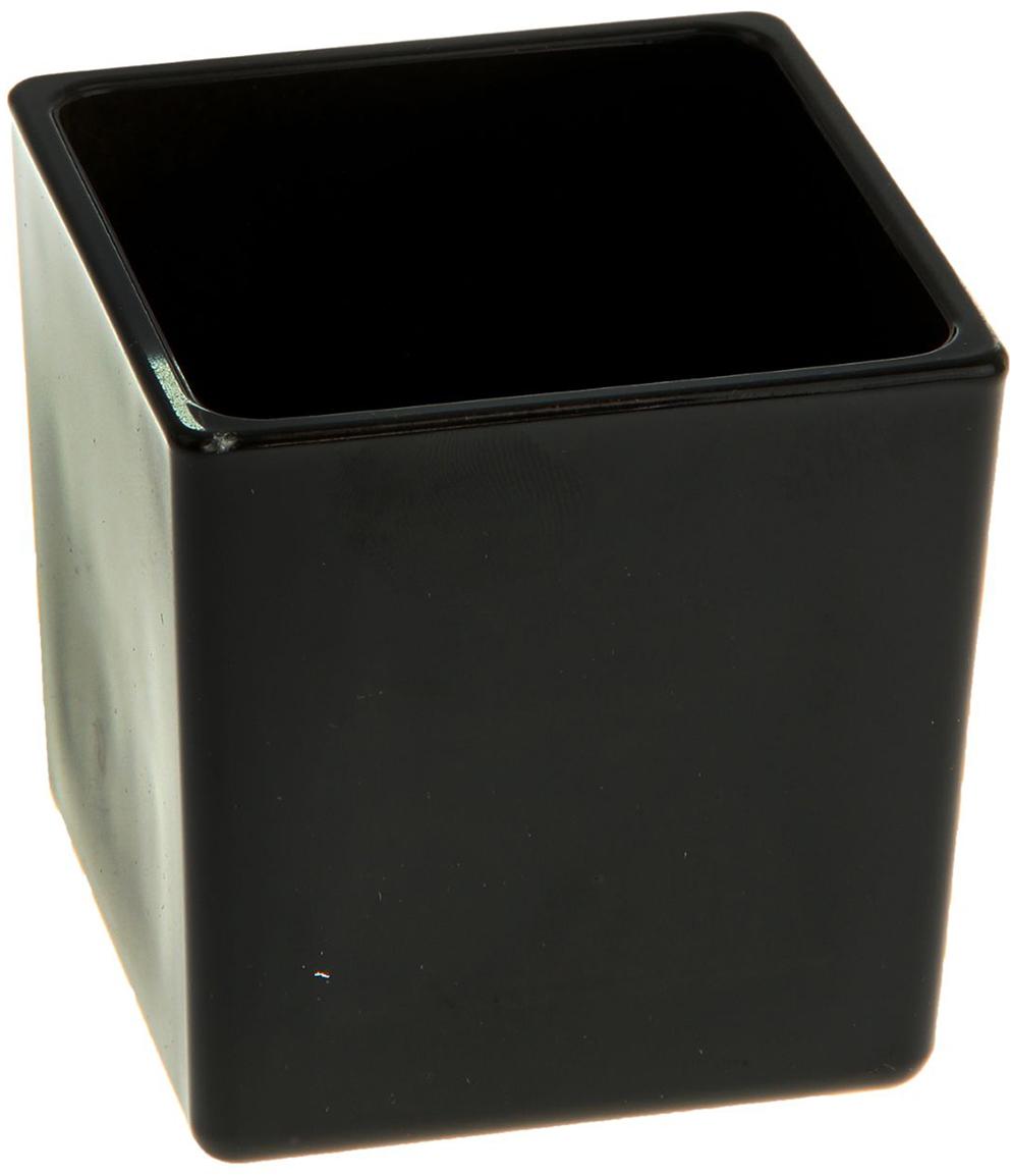 Ваза Evis Пять вечеров, цвет: черный, 0,25 л. 11698791169879Ваза - не просто сосуд для букета, а украшение убранства. Поставьте в неё цветы или декоративные веточки, и эффектный интерьерный акцент готов! Стеклянный аксессуар добавит помещению лёгкости. Ваза Пять вечеров чёрная, глянцевая, квадрат 0,25 л преобразит пространство и как самостоятельный элемент декора. Наполните интерьер уютом! Каждая ваза выдувается мастером. Второй точно такой же не встретить. А случайный пузырёк воздуха или застывшая стеклянная капелька на горлышке лишь подчёркивают её уникальность.