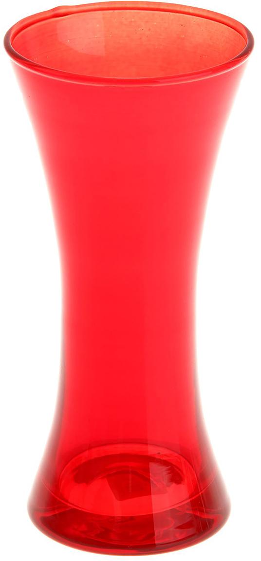 Ваза Evis Весна, цвет: красный, 0,38 л1169891Ваза - не просто сосуд для букета, а украшение убранства. Поставьте в неё цветыили декоративные веточки, и эффектный интерьерный акцент готов! Стеклянныйаксессуар добавит помещению лёгкости. Ваза Весна преобразит пространство и как самостоятельный элемент декора.Наполните интерьер уютом! Каждая ваза выдувается мастером. Второй точно такой же не встретить. Аслучайный пузырёк воздуха или застывшая стеклянная капелька на горлышке лишьподчёркивают её уникальность.