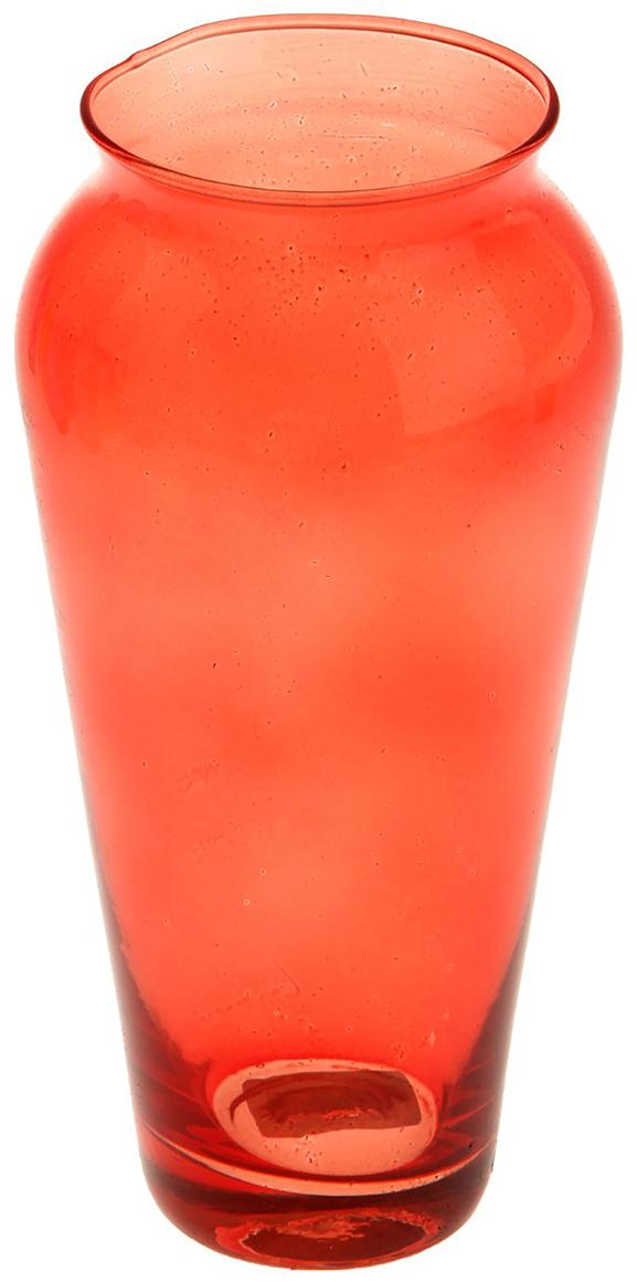 Ваза Evis Весна, цвет: красный, 0,65 л ваза evis вероника 1 95 л