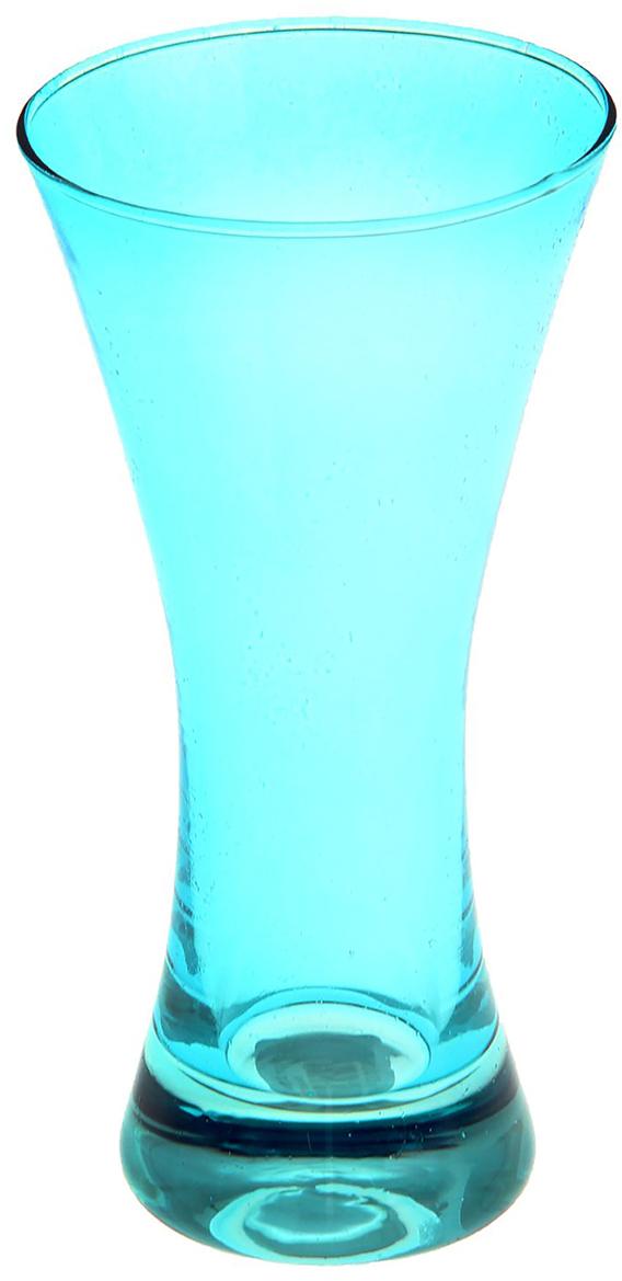 Ваза Evis Весна, цвет: голубой, 0,08 л1169929Ваза - не просто сосуд для букета, а украшение убранства. Поставьте в неё цветы или декоративные веточки, и эффектный интерьерный акцент готов! Стеклянный аксессуар добавит помещению лёгкости. Ваза Весна голубая, 0,08 л преобразит пространство и как самостоятельный элемент декора. Наполните интерьер уютом! Каждая ваза выдувается мастером. Второй точно такой же не встретить. А случайный пузырёк воздуха или застывшая стеклянная капелька на горлышке лишь подчёркивают её уникальность.