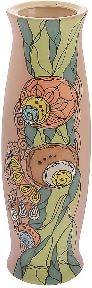 Ваза Керамика ручной работы Ромина, цвет: розовый, большая1173319Ваза - сувенир в полном смысле этого слова. И главная его задача - хранить воспоминание о месте, где вы побывали, или о том человеке, который подарил данный предмет. Преподнесите эту вещь своему другу, и она станет достойным украшением его дома. Каждому хозяину периодически приходит мысль обновить свою квартиру, сделать ремонт, перестановку или кардинально поменять внешний вид каждой комнаты. Ваза - привлекательная деталь, которая поможет воплотить вашу интерьерную идею, создать неповторимую атмосферу в вашем доме. Окружите себя приятными мелочами, пусть они радуют глаз и дарят гармонию.