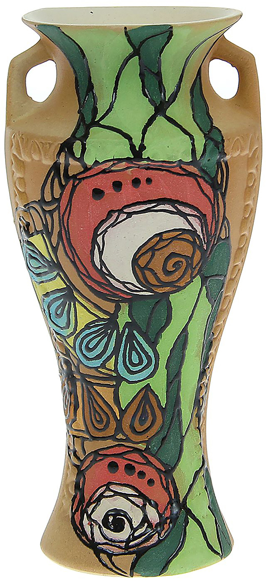 Ваза Керамика ручной работы Рафаэль, цвет: коричневый, малая. 11757551175755Ваза - сувенир в полном смысле этого слова. И главная его задача - хранить воспоминание о месте, где вы побывали, или о том человеке, который подарил данный предмет. Преподнесите эту вещь своему другу, и она станет достойным украшением его дома. Каждому хозяину периодически приходит мысль обновить свою квартиру, сделать ремонт, перестановку или кардинально поменять внешний вид каждой комнаты. Ваза - привлекательная деталь, которая поможет воплотить вашу интерьерную идею, создать неповторимую атмосферу в вашем доме. Окружите себя приятными мелочами, пусть они радуют глаз и дарят гармонию.