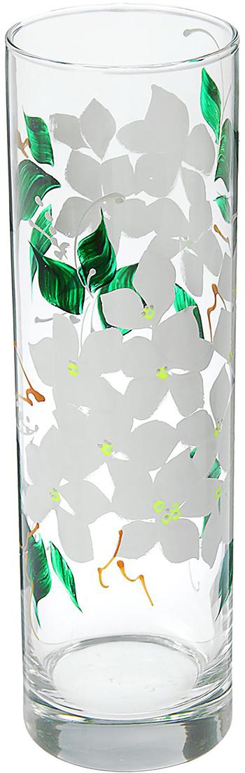 Ваза Flora Жасмин, 26,5 см1184323Ваза - не просто сосуд для букета, а украшение убранства. Поставьте в неё цветы или декоративные веточки, и эффектный интерьерный акцент готов! Стеклянный аксессуар добавит помещению лёгкости. Ваза Flora Жасмин преобразит пространство и как самостоятельный элемент декора. Наполните интерьер уютом! Каждая ваза выдувается мастером. Второй точно такой же не встретить. А случайный пузырёк воздуха или застывшая стеклянная капелька на горлышке лишь подчёркивают её уникальность.