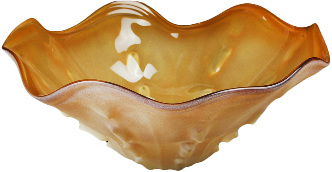 Кажется, что эта ваза впитала в себя весь свет и все тепло яркого летнего солнца. Нежный янтарно-карамельный оттенок вазы Квита, кажется, расцвечивает все пространство вокруг себя. Благодаря необычной форме и изящному дизайну ее так и хочется взять в руки - она похожа на нежный цветок и кажется такой воздушной, что даже не верится, что изготовлена она из стекла. Не скупитесь на положительные эмоции - окружайте себя приятными мелочами, которые будут день ото дня радовать взгляд и поднимать настроение!