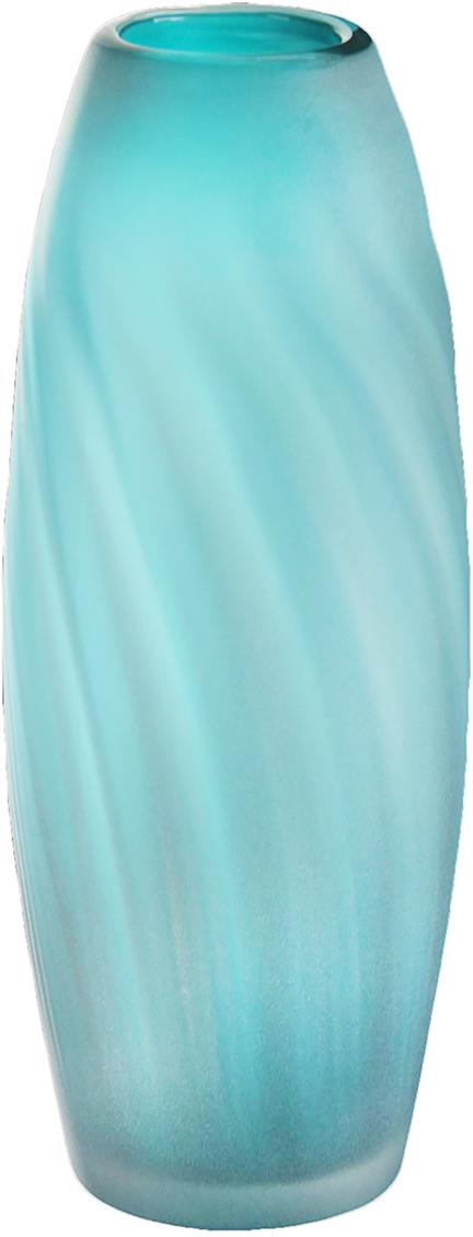 Ваза Милина, выполненная из стекла под Murano, выглядит так стильно и оригинально, что сама по себе может быть подлинным украшением интерьера. А если поставить в нее яркий букет, подаренный близким человеком, то от этой композиции будет и вовсе сложно отвести взгляд. Ваза нежного лазоревого оттенка и необычной, привлекающей внимание формы, будет одинаково хорошо смотреться и в гостиной, и в спальне, и в столовой.