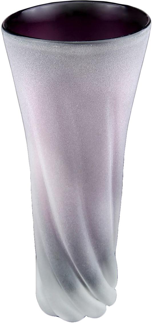 Ваза Ольвия, цвет: фиолетовый119107Ваза Ольвия из стекла под Murano подойдет для любых букетов: и милых белых ромашек, и ярких рыжих роз. Такая универсальность обусловлена простым, но эффектным дизайном этой вазы и ее нежно-лиловым оттенком, выразительным, но не бросающимся в глаза. Не отказывайте себе в приятных мелочах - они не только поднимают настроение вам и вашим близким, но и делают окружающее пространство еще красивее, уютнее и гармоничнее. Если вам тоже пришлась по душе эта замечательная ваза, вы можете заказать ее в нашем интернет-магазине по цене, которая вас приятно удивит.