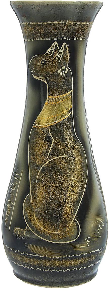 Ваза напольная Керамика ручной работы Осень, цвет: серый. 12397981239798Это ваза - отличный способ подчеркнуть общий стиль интерьера. Существует множество причин иметь такой предмет дома. Вот лишь некоторые из них: Формирование праздничного настроения. Можно украсить вазу к Новому году гирляндой, тюльпанами на 8 марта, розами на день Святого Валентина, вербой на Пасху. За счёт того, что это заметный элемент интерьера, вы легко и быстро создадите во всём доме праздничное настроение. Заполнение углов, подиумов, ниш. Таким образом можно сделать обстановку более уютной и многогранной. Создание групповой композиции. Если позволяет площадь пространства, разместите несколько ваз так, чтобы они сочетались по стилю или цветовому решению. Это придаст обстановке более завершённый вид. Подходящая форма и стиль этого предмета подчеркнут достоинства дизайна квартиры. Ваза может стать отличным подарком по любому поводу, ведь такой элемент интерьера практичен и способен каждый день создавать хорошее настроение!