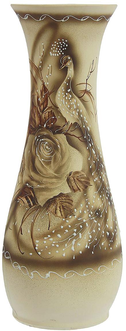 Ваза напольная Керамика ручной работы Осень, цвет: серый. 12398031239803Это ваза - отличный способ подчеркнуть общий стиль интерьера. Существует множество причин иметь такой предмет дома. Вот лишь некоторые из них: Формирование праздничного настроения. Можно украсить вазу к Новому году гирляндой, тюльпанами на 8 марта, розами на день Святого Валентина, вербой на Пасху. За счёт того, что это заметный элемент интерьера, вы легко и быстро создадите во всём доме праздничное настроение. Заполнение углов, подиумов, ниш. Таким образом можно сделать обстановку более уютной и многогранной. Создание групповой композиции. Если позволяет площадь пространства, разместите несколько ваз так, чтобы они сочетались по стилю или цветовому решению. Это придаст обстановке более завершённый вид. Подходящая форма и стиль этого предмета подчеркнут достоинства дизайна квартиры. Ваза может стать отличным подарком по любому поводу, ведь такой элемент интерьера практичен и способен каждый день создавать хорошее настроение!