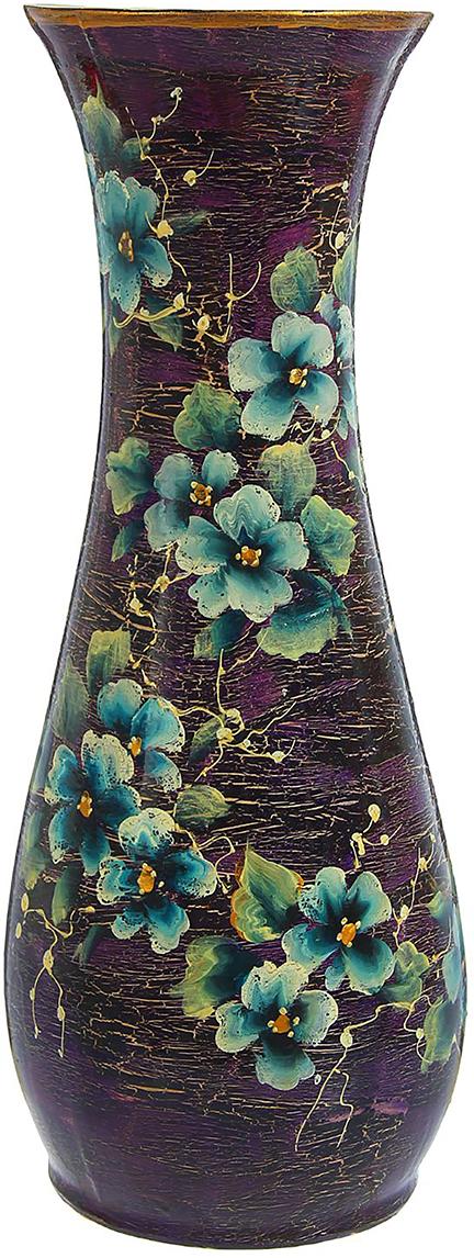 Ваза напольная Керамика ручной работы Осень, цвет: фиолетовый1239813Это ваза - отличный способ подчеркнуть общий стиль интерьера. Существует множество причин иметь такой предмет дома. Вот лишь некоторые из них: Формирование праздничного настроения. Можно украсить вазу к Новому году гирляндой, тюльпанами на 8 марта, розами на день Святого Валентина, вербой на Пасху. За счёт того, что это заметный элемент интерьера, вы легко и быстро создадите во всём доме праздничное настроение. Заполнение углов, подиумов, ниш. Таким образом можно сделать обстановку более уютной и многогранной. Создание групповой композиции. Если позволяет площадь пространства, разместите несколько ваз так, чтобы они сочетались по стилю или цветовому решению. Это придаст обстановке более завершённый вид. Подходящая форма и стиль этого предмета подчеркнут достоинства дизайна квартиры. Ваза может стать отличным подарком по любому поводу, ведь такой элемент интерьера практичен и способен каждый день создавать хорошее настроение!