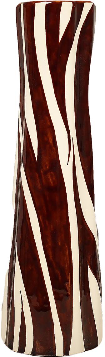 Ваза Керамика ручной работы Виола, цвет: коричневый. 12991961299196Ваза - сувенир в полном смысле этого слова. И главная его задача - хранить воспоминание о месте, где вы побывали, или о том человеке, который подарил данный предмет. Преподнесите эту вещь своему другу, и она станет достойным украшением его дома. Каждому хозяину периодически приходит мысль обновить свою квартиру, сделать ремонт, перестановку или кардинально поменять внешний вид каждой комнаты. Ваза - привлекательная деталь, которая поможет воплотить вашу интерьерную идею, создать неповторимую атмосферу в вашем доме. Окружите себя приятными мелочами, пусть они радуют глаз и дарят гармонию.
