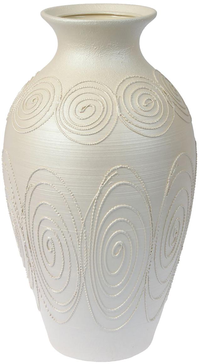 Ваза напольная Керамика ручной работы Классика, цвет: белый. 12992851299285Это ваза - отличный способ подчеркнуть общий стиль интерьера. Существует множество причин иметь такой предмет дома. Вот лишь некоторые из них: Формирование праздничного настроения. Можно украсить вазу к Новому году гирляндой, тюльпанами на 8 марта, розами на день Святого Валентина, вербой на Пасху. За счёт того, что это заметный элемент интерьера, вы легко и быстро создадите во всём доме праздничное настроение. Заполнение углов, подиумов, ниш. Таким образом можно сделать обстановку более уютной и многогранной. Создание групповой композиции. Если позволяет площадь пространства, разместите несколько ваз так, чтобы они сочетались по стилю или цветовому решению. Это придаст обстановке более завершённый вид. Подходящая форма и стиль этого предмета подчеркнут достоинства дизайна квартиры. Ваза может стать отличным подарком по любому поводу, ведь такой элемент интерьера практичен и способен каждый день создавать хорошее настроение!
