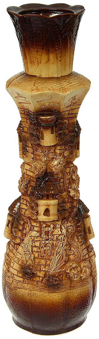 Ваза напольная Керамика ручной работы Лилиана, цвет: коричневый1325477Это ваза - отличный способ подчеркнуть общий стиль интерьера.Существует множество причин иметь такой предмет дома. Вот лишь некоторые из них:Формирование праздничного настроения. Можно украсить вазу к Новому году гирляндой, тюльпанами на 8 марта, розами на день Святого Валентина, вербой на Пасху. За счёт того, что это заметный элемент интерьера, вы легко и быстро создадите во всём доме праздничное настроение.Заполнение углов, подиумов, ниш. Таким образом можно сделать обстановку более уютной и многогранной.Создание групповой композиции. Если позволяет площадь пространства, разместите несколько ваз так, чтобы они сочетались по стилю или цветовому решению. Это придаст обстановке более завершённый вид.Подходящая форма и стиль этого предмета подчеркнут достоинства дизайна квартиры. Ваза может стать отличным подарком по любому поводу, ведь такой элемент интерьера практичен и способен каждый день создавать хорошее настроение!