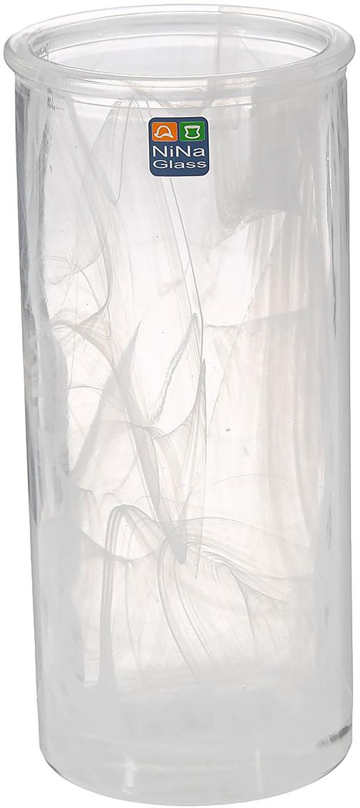 Ваза NiNa Glass Успех, цвет: белый, 19,5 см1329670Ваза - не просто сосуд для букета, а украшение убранства. Поставьте в неё цветы или декоративные веточки, и эффектный интерьерный акцент готов! Стеклянный аксессуар добавит помещению лёгкости. Ваза Успех алебастровая преобразит пространство и как самостоятельный элемент декора. Наполните интерьер уютом! Каждая ваза выдувается мастером. Второй точно такой же не встретить. А случайный пузырёк воздуха или застывшая стеклянная капелька на горлышке лишь подчёркивают её уникальность.