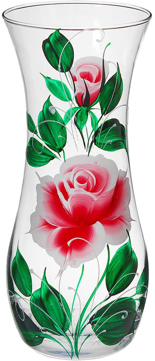 Ваза Благородная роза, 25,5 см1365305Ваза - сувенир в полном смысле этого слова. И главная его задача - хранить воспоминание о месте, где вы побывали, или о том человеке, который подарил данный предмет. Преподнесите эту вещь своему другу, и она станет достойным украшением его дома. Каждому хозяину периодически приходит мысль обновить свою квартиру, сделать ремонт, перестановку или кардинально поменять внешний вид каждой комнаты. Ваза - привлекательная деталь, которая поможет воплотить вашу интерьерную идею, создать неповторимую атмосферу в вашем доме. Окружите себя приятными мелочами, пусть они радуют глаз и дарят гармонию.