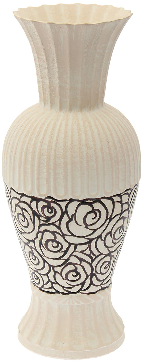 Ваза напольная Керамика ручной работы Ромашка, цвет: белый. 15092821509282Это ваза - отличный способ подчеркнуть общий стиль интерьера. Существует множество причин иметь такой предмет дома. Вот лишь некоторые из них: Формирование праздничного настроения. Можно украсить вазу к Новому году гирляндой, тюльпанами на 8 марта, розами на день СвятогоВалентина, вербой на Пасху. За счёт того, что это заметный элемент интерьера, вы легко и быстро создадите во всём доме праздничноенастроение.Заполнение углов, подиумов, ниш. Таким образом можно сделать обстановку более уютной и многогранной. Создание групповой композиции. Если позволяет площадь пространства, разместите несколько ваз так, чтобы они сочетались по стилю илицветовому решению. Это придаст обстановке более завершённый вид. Подходящая форма и стиль этого предмета подчеркнут достоинства дизайна квартиры. Ваза может стать отличным подарком по любому поводу,ведь такой элемент интерьера практичен и способен каждый день создавать хорошее настроение!