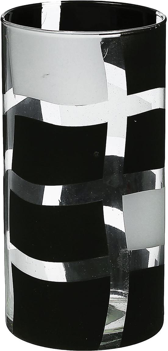Ваза Evis Илонка, цвет: черный, цилиндр1517469Ваза - не просто сосуд для букета, а украшение убранства. Поставьте в неё цветы или декоративные веточки, и эффектный интерьерный акцент готов! Стеклянный аксессуар добавит помещению лёгкости. Ваза Илонка, цилиндр преобразит пространство и как самостоятельный элемент декора. Наполните интерьер уютом! Каждая ваза выдувается мастером. Второй точно такой же не встретить. А случайный пузырёк воздуха или застывшая стеклянная капелька на горлышке лишь подчёркивают её уникальность.