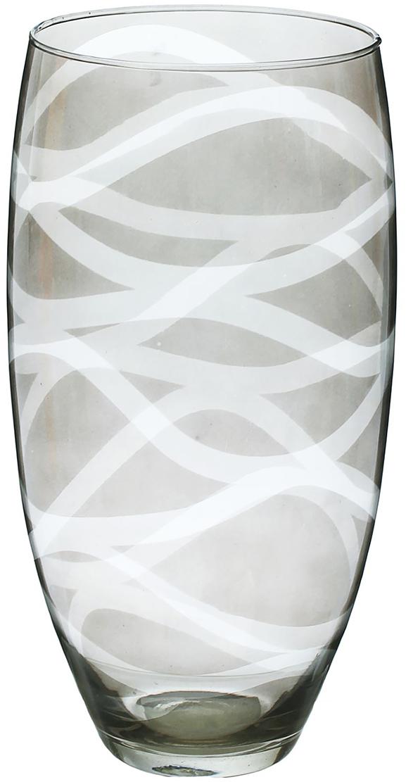 Ваза Evis Вернисаж, 30 см1517500Ваза - не просто сосуд для букета, а украшение убранства. Поставьте в неё цветы или декоративные веточки, и эффектный интерьерный акцент готов! Стеклянный аксессуар добавит помещению лёгкости. Ваза Вернисаж преобразит пространство и как самостоятельный элемент декора. Наполните интерьер уютом! Каждая ваза выдувается мастером. Второй точно такой же не встретить. А случайный пузырёк воздуха или застывшая стеклянная капелька на горлышке лишь подчёркивают её уникальность.