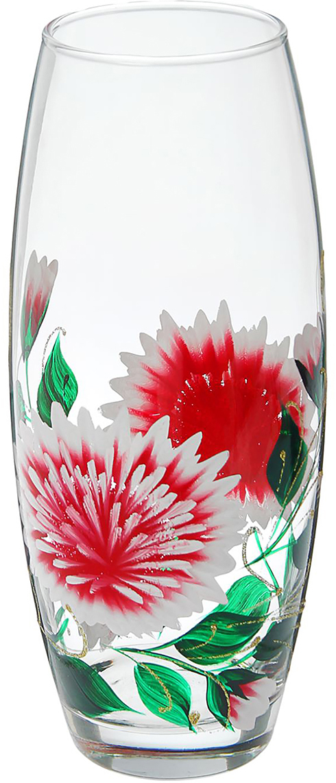 Ваза Flora Астра, 26 см1550772Ваза - не просто сосуд для букета, а украшение убранства. Поставьте в неё цветы или декоративные веточки, и эффектный интерьерный акцент готов! Стеклянный аксессуар добавит помещению лёгкости. Ваза Flora Астра, овал преобразит пространство и как самостоятельный элемент декора. Наполните интерьер уютом! Каждая ваза выдувается мастером. Второй точно такой же не встретить. А случайный пузырёк воздуха или застывшая стеклянная капелька на горлышке лишь подчёркивают её уникальность.