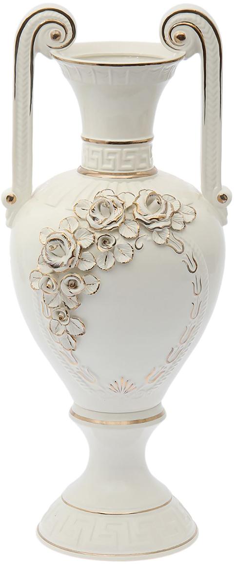Ваза напольная Керамика ручной работы Афина, цвет: белый. 15564341556434Это ваза - отличный способ подчеркнуть общий стиль интерьера. Существует множество причин иметь такой предмет дома. Вот лишь некоторые из них: Формирование праздничного настроения. Можно украсить вазу к Новому году гирляндой, тюльпанами на 8 марта, розами на день Святого Валентина, вербой на Пасху. За счёт того, что это заметный элемент интерьера, вы легко и быстро создадите во всём доме праздничное настроение. Заполнение углов, подиумов, ниш. Таким образом можно сделать обстановку более уютной и многогранной. Создание групповой композиции. Если позволяет площадь пространства, разместите несколько ваз так, чтобы они сочетались по стилю или цветовому решению. Это придаст обстановке более завершённый вид. Подходящая форма и стиль этого предмета подчеркнут достоинства дизайна квартиры. Ваза может стать отличным подарком по любому поводу, ведь такой элемент интерьера практичен и способен каждый день создавать хорошее настроение!