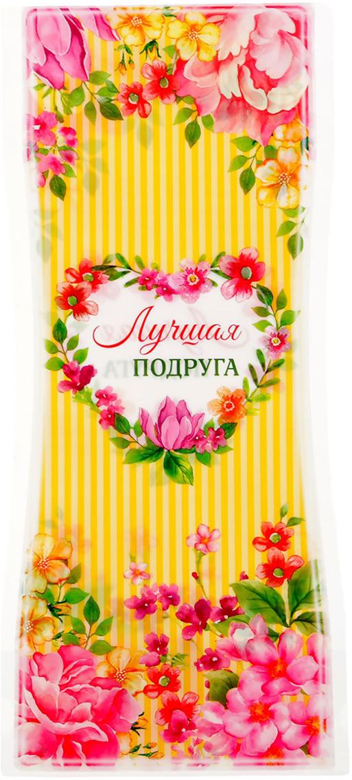 Ваза для цветов Подруге, складная, цвет: желтый, 27 см1716540Ваза изготовлена из тонкого пластика. В сложенном виде декор не толще листа бумаги. Налейте в него воду, и он с лёгкостью примет нужную форму. Преимущества складной вазы Устойчивость: благодаря своей форме и тяжести воды, изделие подходит для любого букета до 11 цветков. Компактность: в сложенном состоянии займёт минимум места, не больше полиэтиленового пакета. Безопасность: если ребёнок или домашнее животное опрокинет ёмкость, она не разобьётся. Многократность использования: высушите, сложите и уберите предмет, если он не нужен. Такая ваза будет отличным подарком на 8 Марта, день рождения, а также станет прекрасным дополнением к букету.