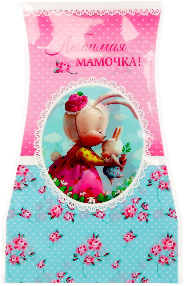 Ваза для цветов Мамочке, складная, цвет: розовый, 20,4 см ваза для цветов любимой мамочке
