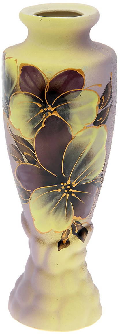 Ваза Амфора, цвет: желтый1801771Это ваза - отличный способ подчеркнуть общий стиль интерьера. Существует множество причин иметь такой предмет дома. Вот лишь некоторые из них: Формирование праздничного настроения. Можно украсить вазу к Новому году гирляндой, тюльпанами на 8 марта, розами на день Святого Валентина, вербой на Пасху. За счёт того, что это заметный элемент интерьера, вы легко и быстро создадите во всём доме праздничное настроение. Заполнение углов, подиумов, ниш. Таким образом можно сделать обстановку более уютной и многогранной. Создание групповой композиции. Если позволяет площадь пространства, разместите несколько ваз так, чтобы они сочетались по стилю или цветовому решению. Это придаст обстановке более завершённый вид. Подходящая форма и стиль этого предмета подчеркнут достоинства дизайна квартиры. Ваза может стать отличным подарком по любому поводу, ведь такой элемент интерьера практичен и способен каждый день создавать хорошее настроение!