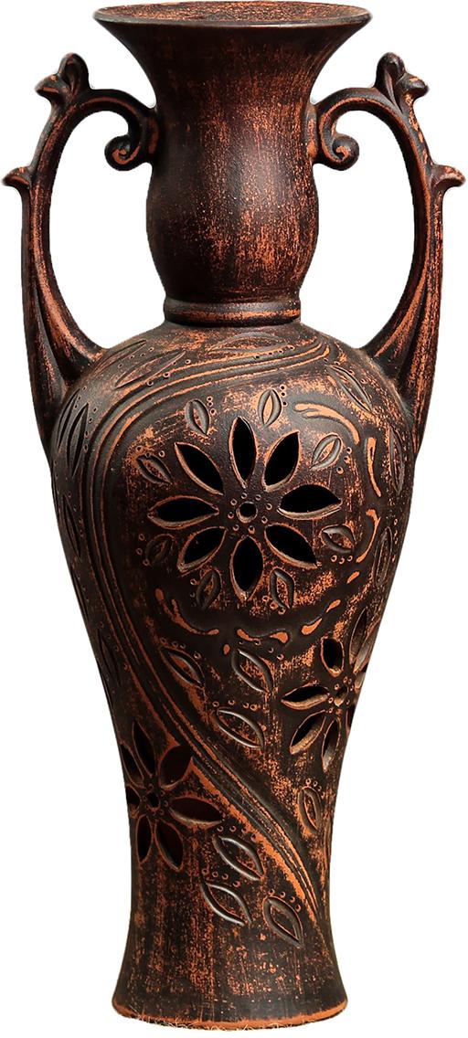 """Ваза напольная """"Керамика ручной работы"""" - привлекательная деталь, которая поможет воплотить вашу интерьерную идею, создать неповторимую атмосферу в вашем доме."""