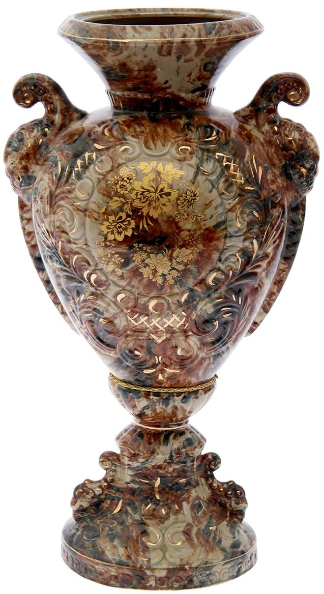 Ваза напольная Керамика ручной работы Любава, высота 60 см193388Красивые большие напольные вазы озаряют помещение элегантностью исоздают неповторимый уют. Ваза напольная Любава станет стильнымакцентом любого интерьера.Вазы из керамики очень прочны и долговечны. Покупая эту вазу домой или вподарок близким, вы можете быть уверены, что она прослужит ещё ни одномубудущему поколению владельцев.