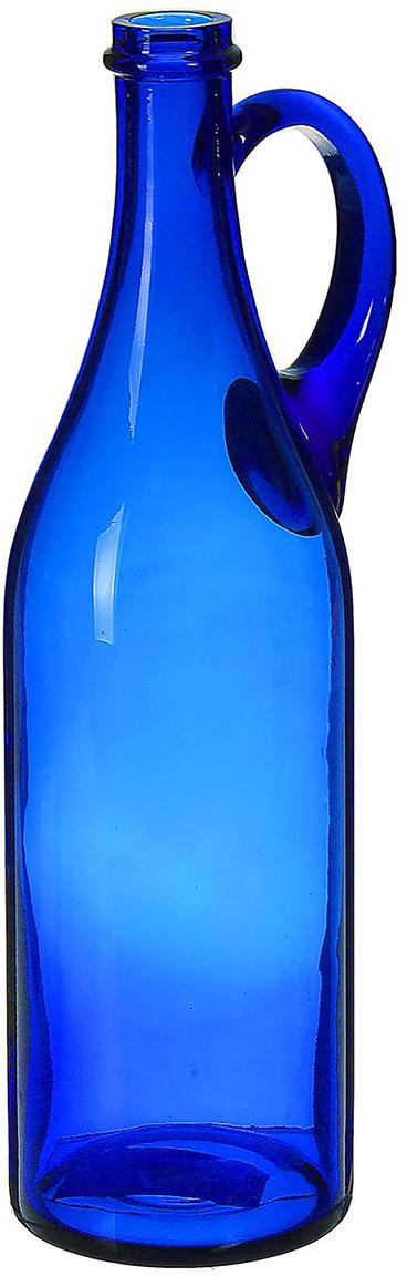 Ваза-бутыль Литр, цвет: синий, 31 см1984710Ваза-бутыль Литр с ручкой, синяя - сувенир в полном смысле этого слова. И главная его задача - хранить воспоминание о месте, где вы побывали, или о том человеке, который подарил данный предмет. Преподнесите эту вещь своему другу, и она станет достойным украшением его дома. Невозможно представить нашу жизнь без праздников! Мы всегда ждём их и предвкушаем, обдумываем, как проведём памятный день, тщательно выбираем подарки и аксессуары, ведь именно они создают и поддерживают торжественный настрой. Ваза-бутыль Литр с ручкой, синяя - это отличный выбор, который привнесёт атмосферу праздника в ваш дом!
