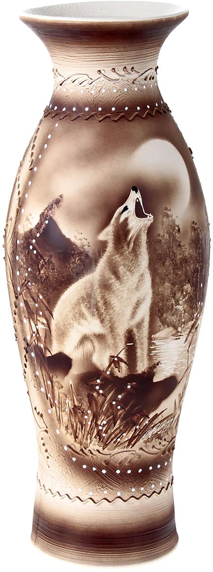 Ваза напольная Керамика ручной работы Эллада, цвет: коричневый198614Это ваза - отличный способ подчеркнуть общий стиль интерьера.Существует множество причин иметь такой предмет дома. Вот лишь некоторые из них:Формирование праздничного настроения. Можно украсить вазу к Новому году гирляндой, тюльпанами на 8 марта, розами на день Святого Валентина, вербой на Пасху. За счёт того, что это заметный элемент интерьера, вы легко и быстро создадите во всём доме праздничное настроение.Заполнение углов, подиумов, ниш. Таким образом можно сделать обстановку более уютной и многогранной.Создание групповой композиции. Если позволяет площадь пространства, разместите несколько ваз так, чтобы они сочетались по стилю или цветовому решению. Это придаст обстановке более завершённый вид.Подходящая форма и стиль этого предмета подчеркнут достоинства дизайна квартиры. Ваза может стать отличным подарком по любому поводу, ведь такой элемент интерьера практичен и способен каждый день создавать хорошее настроение!