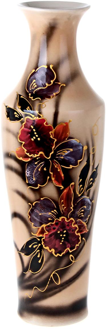 Ваза напольная Керамика ручной работы Киевлянка, цвет: бежевый. 198952198952Это ваза - отличный способ подчеркнуть общий стиль интерьера. Существует множество причин иметь такой предмет дома. Вот лишь некоторые из них: Формирование праздничного настроения. Можно украсить вазу к Новому году гирляндой, тюльпанами на 8 марта, розами на день Святого Валентина, вербой на Пасху. За счёт того, что это заметный элемент интерьера, вы легко и быстро создадите во всём доме праздничное настроение. Заполнение углов, подиумов, ниш. Таким образом можно сделать обстановку более уютной и многогранной. Создание групповой композиции. Если позволяет площадь пространства, разместите несколько ваз так, чтобы они сочетались по стилю или цветовому решению. Это придаст обстановке более завершённый вид. Подходящая форма и стиль этого предмета подчеркнут достоинства дизайна квартиры. Ваза может стать отличным подарком по любому поводу, ведь такой элемент интерьера практичен и способен каждый день создавать хорошее настроение!