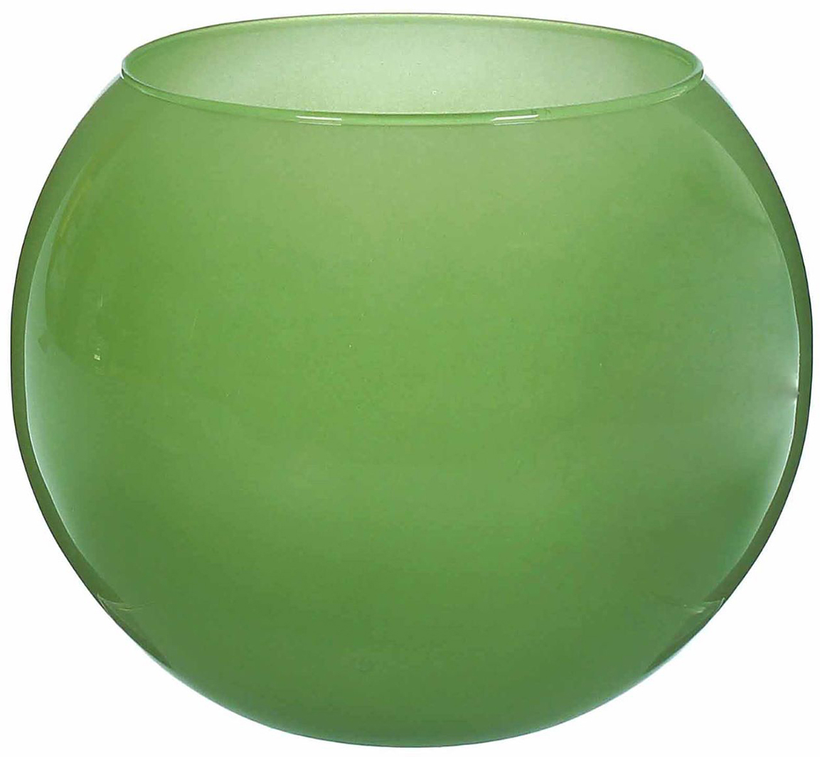 Ваза-шар Evis Дильбар, цвет: зеленый, 3 л1993259Ваза - сувенир в полном смысле этого слова. И главная его задача - хранить воспоминание о месте, где вы побывали, или о том человеке, который подарил данный предмет. Преподнесите эту вещь своему другу, и она станет достойным украшением его дома. Каждому хозяину периодически приходит мысль обновить свою квартиру, сделать ремонт, перестановку или кардинально поменять внешний вид каждой комнаты. Ваза - привлекательная деталь, которая поможет воплотить вашу интерьерную идею, создать неповторимую атмосферу в вашем доме.