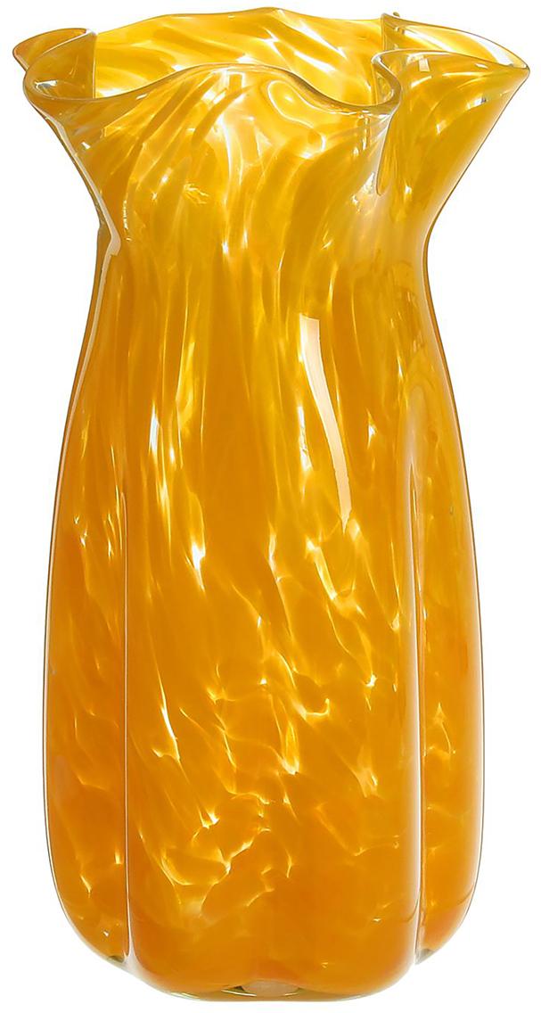 Ваза Объём, цвет: желтый, 30 см2176636Ваза - сувенир в полном смысле этого слова. И главная его задача - хранить воспоминание о месте, где вы побывали, или о том человеке, который подарил данный предмет. Преподнесите эту вещь своему другу, и она станет достойным украшением его дома. Каждому хозяину периодически приходит мысль обновить свою квартиру, сделать ремонт, перестановку или кардинально поменять внешний вид каждой комнаты. Ваза - привлекательная деталь, которая поможет воплотить вашу интерьерную идею, создать неповторимую атмосферу в вашем доме. Окружите себя приятными мелочами, пусть они радуют глаз и дарят гармонию.