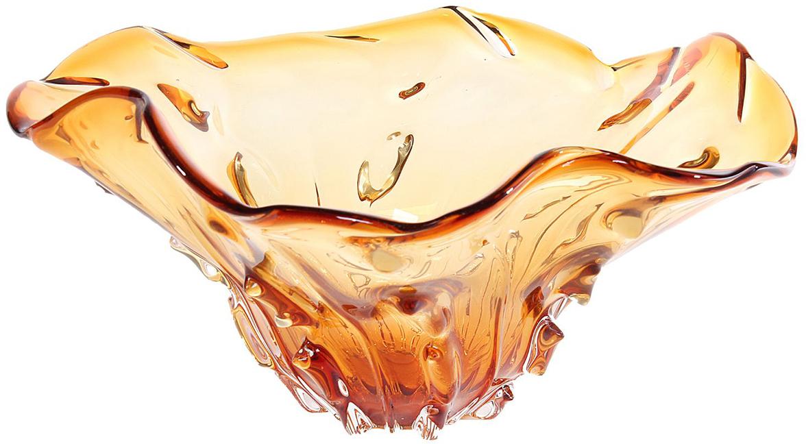 Ваза Квинта, цвет: оранжевый, 17 см2197062- сувенир в полном смысле этого слова. И главная его задача - хранить воспоминание о месте, где вы побывали, или о том человеке, который подарил данный предмет. Преподнесите эту вещь своему другу, и она станет достойным украшением его дома. Каждому хозяину периодически приходит мысль обновить свою квартиру, сделать ремонт, перестановку или кардинально поменять внешний вид каждой комнаты. - привлекательная деталь, которая поможет воплотить вашу интерьерную идею, создать неповторимую атмосферу в вашем доме. Окружите себя приятными мелочами, пусть они радуют глаз и дарят гармонию.