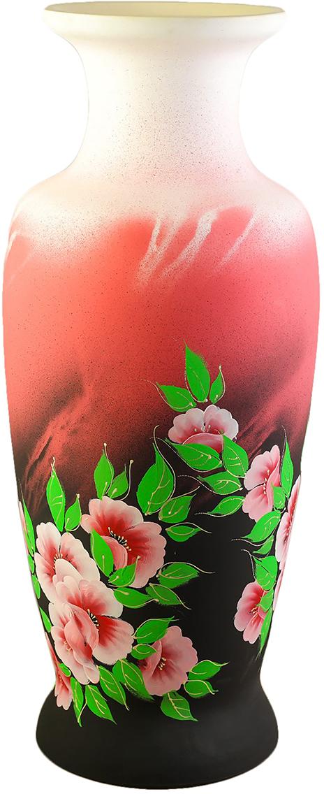 Ваза напольная Керамика ручной работы Белла, цвет: розовый, художественная роспись2446241Ваза - сувенир в полном смысле этого слова. И главная его задача - хранить воспоминание о месте, где вы побывали, или о том человеке, который подарил данный предмет. Преподнесите эту вещь своему другу, и она станет достойным украшением его дома. Каждому хозяину периодически приходит мысль обновить свою квартиру, сделать ремонт, перестановку или кардинально поменять внешний вид каждой комнаты. Ваза - привлекательная деталь, которая поможет воплотить вашу интерьерную идею, создать неповторимую атмосферу в вашем доме.