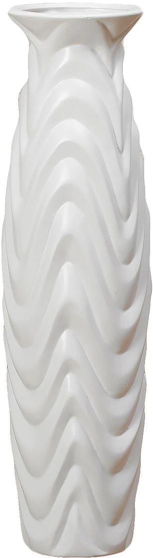Ваза напольная День ночь, керамика, цвет: белый, 60 см. 25418192541819- сувенир в полном смысле этого слова. И главная его задача - хранить воспоминание о месте, где вы побывали, или о том человеке, который подарил данный предмет. Преподнесите эту вещь своему другу, и она станет достойным украшением его дома.Каждому хозяину периодически приходит мысль обновить свою квартиру, сделать ремонт, перестановку или кардинально поменять внешний вид каждой комнаты. - привлекательная деталь, которая поможет воплотить вашу интерьерную идею, создать неповторимую атмосферу в вашем доме. Окружите себя приятными мелочами, пусть они радуют глаз и дарят гармонию.