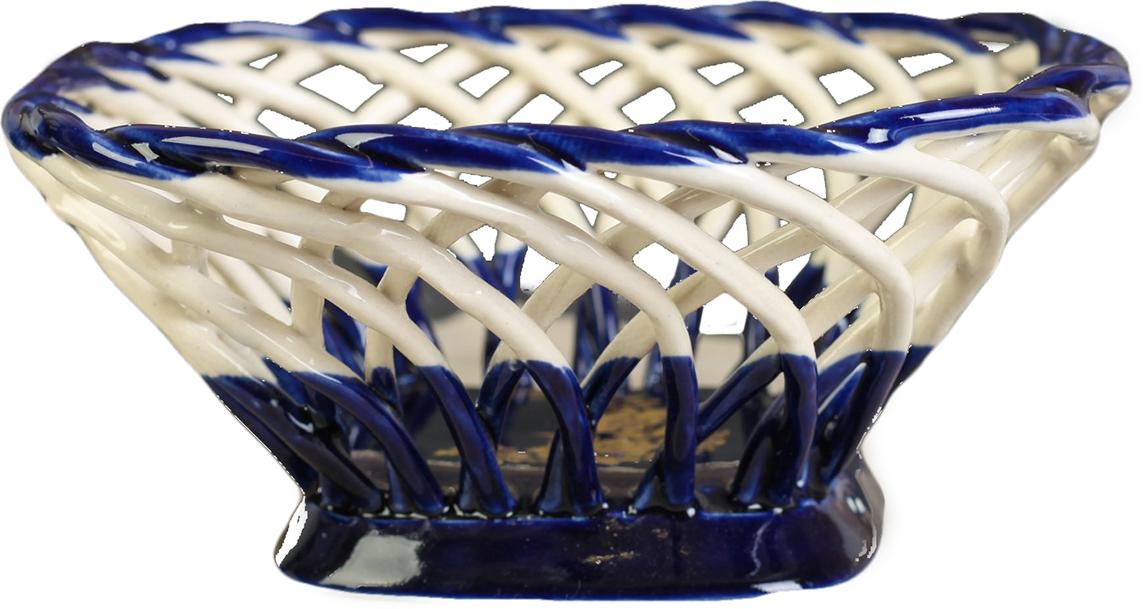 Конфетница квадратная Керамика ручной работы, цвет: синий2739119Ваза для конфет украсит любую квартиру, дачу или офис. Преподнести её в качестве подарка друзьям или близким – отличная идея. Необычный дизайн и расцветка может вписаться в любой интерьер и стать его уникальным акцентом. Вещь предназначена для подачи конфет, сухофруктов или восточных сладостей.