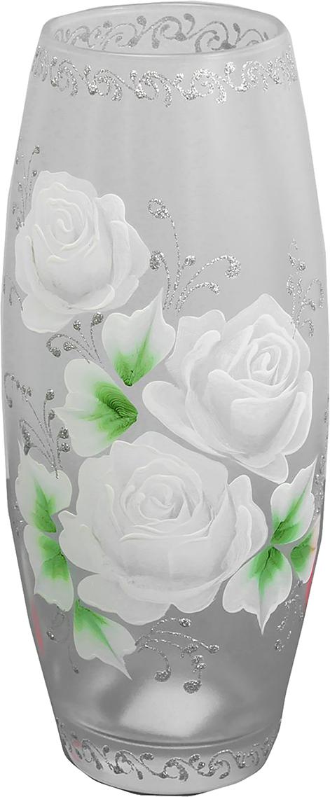 Ваза Белые розы, цвет: серый, 25 см2760800Невозможно представить нашу жизнь без праздников! Мы всегда ждём их ипредвкушаем, обдумываем, как проведём памятный день, тщательно выбираемподарки и аксессуары, ведь именно они создают и поддерживают торжественныйнастрой. - это отличный выбор, который привнесёт атмосферу праздника в вашдом! Каждому хозяину периодически приходит мысль обновить свою квартиру, сделатьремонт, перестановку или кардинально поменять внешний вид каждой комнаты. -привлекательная деталь, которая поможет воплотить вашу интерьерную идею,создать неповторимую атмосферу в вашем доме. Окружите себя приятнымимелочами, пусть они радуют глаз и дарят гармонию.- сувенир в полном смысле этого слова. И главная его задача - хранитьвоспоминание о месте, где вы побывали, или о том человеке, который подарилданный предмет. Преподнесите эту вещь своему другу, и она станет достойнымукрашением его дома.