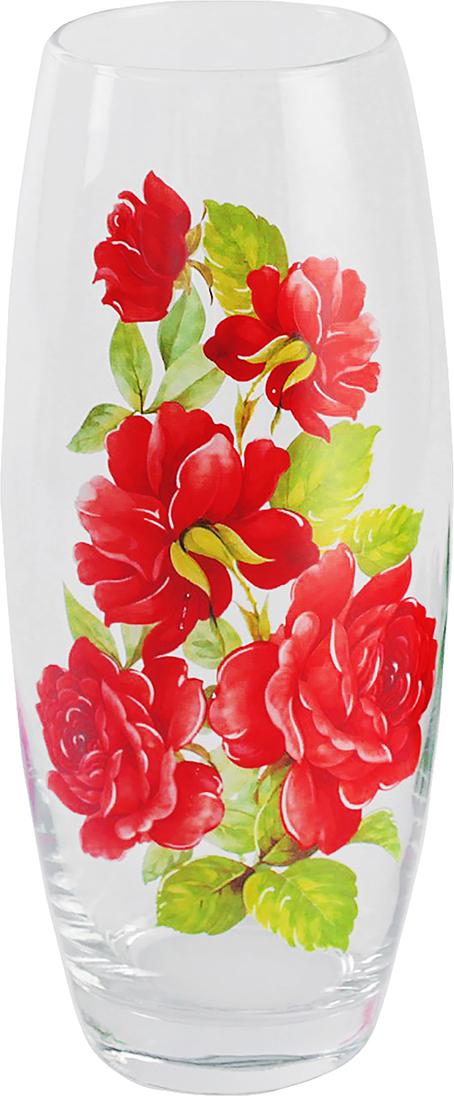Ваза для цветов ДекоДон Алая роза, 26 см2766030Ваза - сувенир в полном смысле этого слова. И главная его задача - хранить воспоминание о месте, где вы побывали, или о том человеке, который подарил данный предмет. Преподнесите эту вещь своему другу, и она станет достойным украшением его дома.Каждому хозяину периодически приходит мысль обновить свою квартиру, сделать ремонт, перестановку или кардинально поменять внешний вид каждой комнаты. Ваза - привлекательная деталь, которая поможет воплотить вашу интерьерную идею, создать неповторимую атмосферу в вашем доме. Окружите себя приятными мелочами, пусть они радуют глаз и дарят гармонию.