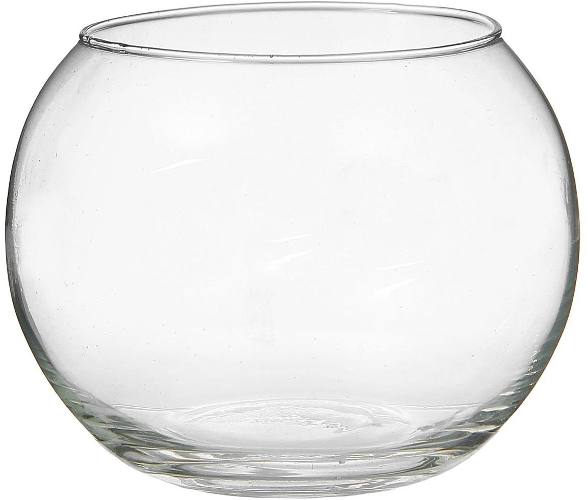Ваза-шар Evis Сфера, 0,75 л758517Воплотите в жизнь самые смелые дизайнерские идеи по украшению дома!Ваза из прозрачного стекла - основа для вашего творчества. Насыпьте в неё цветной песок, камушки, ракушки или другой декор. Создавайте восхитительные интерьерные композиции из цветов и зелени. Ваза-шар Сфера станет незабываемым подарком, если поместить в неё конфеты или другие сладости. Дайте волю фантазии! Каждая ваза выдувается мастером - вы не найдёте двух совершенно одинаковых. А случайный пузырёк воздуха или застывшая стеклянная капелька на горлышке лишь подчёркивают её уникальность.