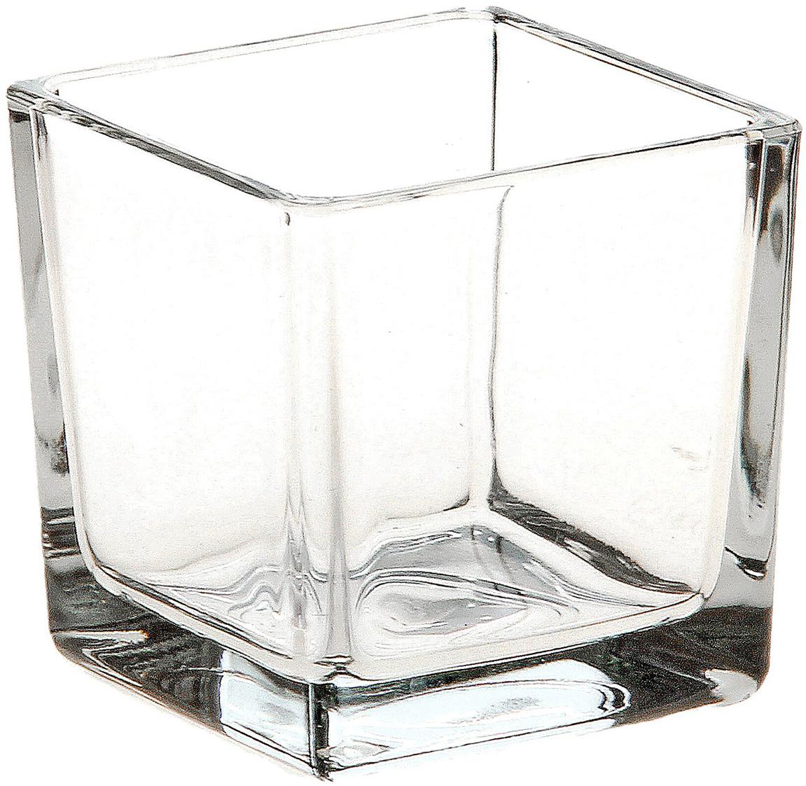 Ваза Evis Кубик, 0,25 л758620Воплотите в жизнь самые смелые дизайнерские идеи по украшению дома! Ваза из прозрачного стекла - основа для вашего творчества. Насыпьте в неё цветной песок, камушки, ракушки или другой декор. Создавайте восхитительные интерьерные композиции из цветов и зелени. Ваза Кубик 0,25 л станет незабываемым подарком, если поместить в неё конфеты или другие сладости. Дайте волю фантазии! Каждая ваза выдувается мастером - вы не найдёте двух совершенно одинаковых. А случайный пузырёк воздуха или застывшая стеклянная капелька на горлышке лишь подчёркивают её уникальность.