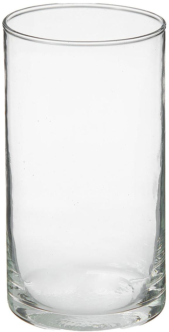 Ваза Evis Цилиндр, 15 см758627Воплотите в жизнь самые смелые дизайнерские идеи по украшению дома! Ваза из прозрачного стекла - основа для вашего творчества. Насыпьте в неё цветной песок, камушки, ракушки или другой декор. Создавайте восхитительные интерьерные композиции из цветов и зелени. Ваза Цилиндр 0,5 л станет незабываемым подарком, если поместить в неё конфеты или другие сладости. Дайте волю фантазии! Каждая ваза выдувается мастером - вы не найдёте двух совершенно одинаковых. А случайный пузырёк воздуха или застывшая стеклянная капелька на горлышке лишь подчёркивают её уникальность.
